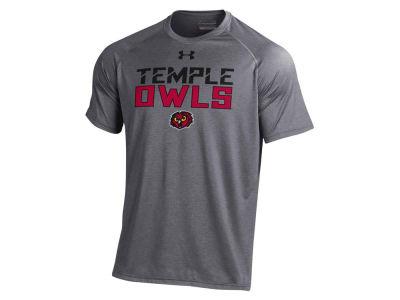 Temple Owls Under Armour NCAA Men's Tech T-Shirt