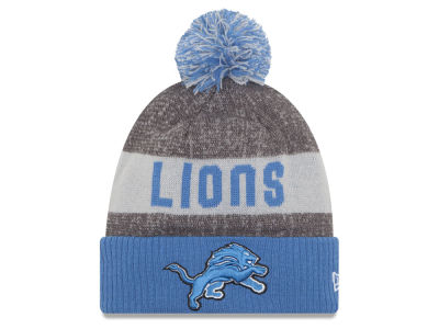 Detroit Lions New Era NFL 2016 Official Sport Sideline Knit