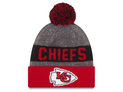 Kansas City Chiefs New Era NFL 2016 Official Sport Sideline Knit