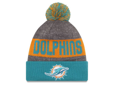 Miami Dolphins New Era NFL 2016 Official Sport Sideline Knit