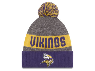 Minnesota Vikings New Era NFL 2016 Official Sport Sideline Knit