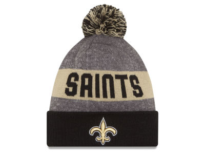 New Orleans Saints New Era NFL 2016 Official Sport Sideline Knit