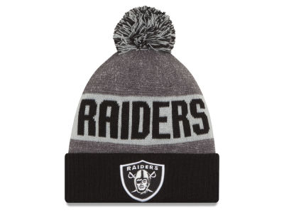 Oakland Raiders New Era NFL 2016 Official Sport Sideline Knit