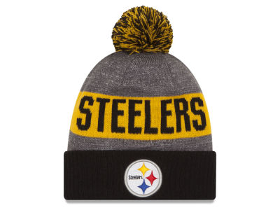 Pittsburgh Steelers New Era NFL 2016 Official Sport Sideline Knit