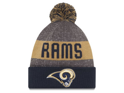 Los Angeles Rams New Era NFL 2016 Official Sport Sideline Knit