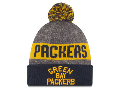 Green Bay Packers New Era NFL 2016 Official Sport Sideline Knit