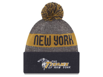 New York Titans New Era 2016 Official NFL Sport Knit
