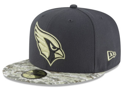 Arizona Cardinals New Era NFL Salute to Service Official 59FIFTY Cap