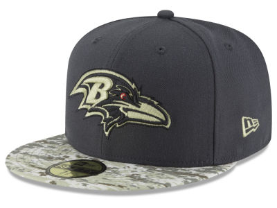 Baltimore Ravens New Era NFL Salute to Service Official 59FIFTY Cap