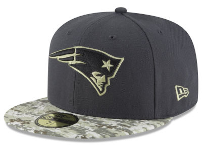 New England Patriots New Era NFL Salute to Service Official 59FIFTY Cap