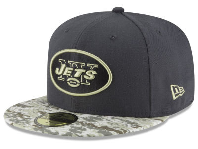 New York Jets New Era NFL Salute to Service Official 59FIFTY Cap
