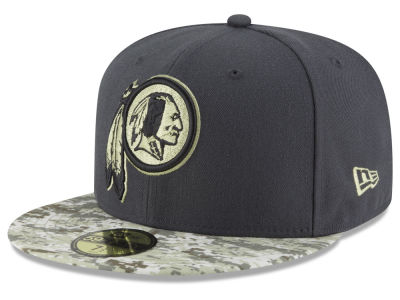 Washington Redskins New Era NFL Salute to Service Official 59FIFTY Cap