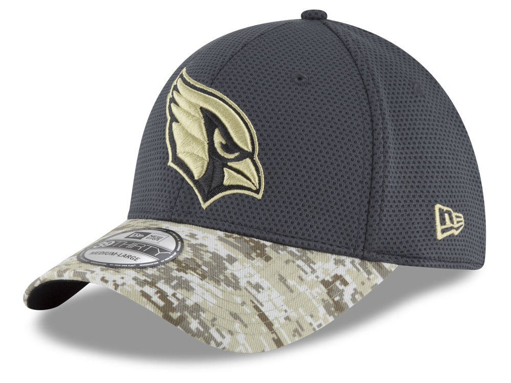 reputable site 6f833 6d858 ... spain arizona cardinals new era nfl salute to service official 39thirty  cap 8ec3f edc18