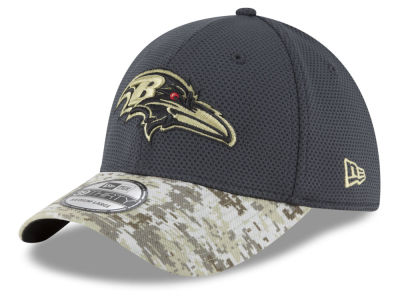Baltimore Ravens New Era NFL Salute to Service Official 39THIRTY Cap