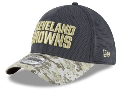 Cleveland Browns New Era NFL Salute to Service Official 39THIRTY Cap