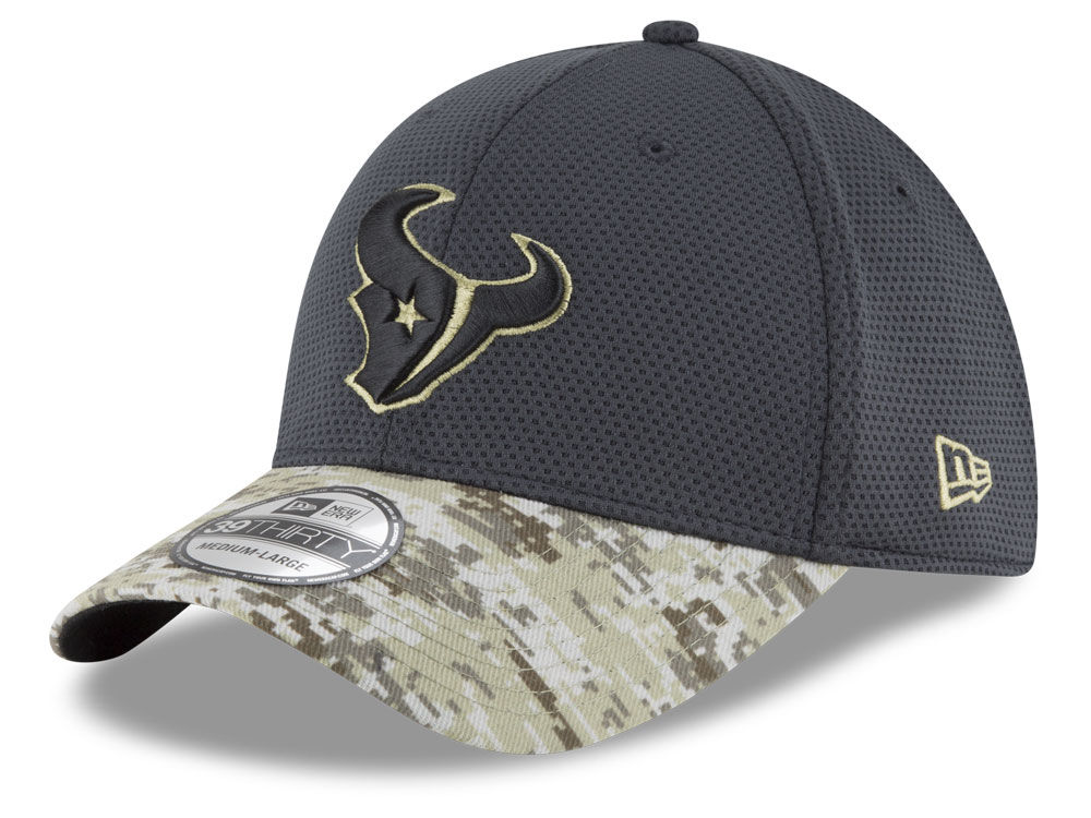 innovative design 2a011 6a6bd ... flex hat fed75 7f891  official houston texans new era nfl salute to  service official 39thirty cap e2fc4 79f39