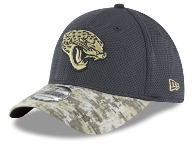 Jacksonville Jaguars New Era NFL Salute to Service Official 39THIRTY Cap