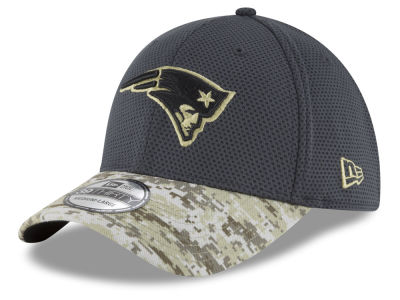 New England Patriots New Era NFL Salute to Service Official 39THIRTY Cap
