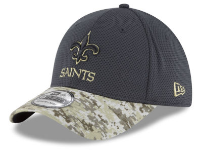 New Orleans Saints New Era NFL Salute to Service Official 39THIRTY Cap
