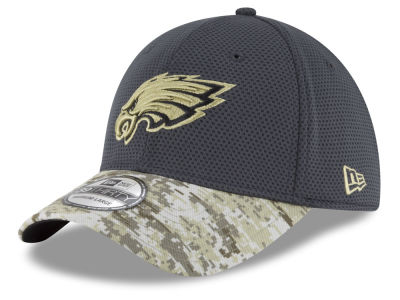 Philadelphia Eagles New Era NFL Salute to Service Official 39THIRTY Cap