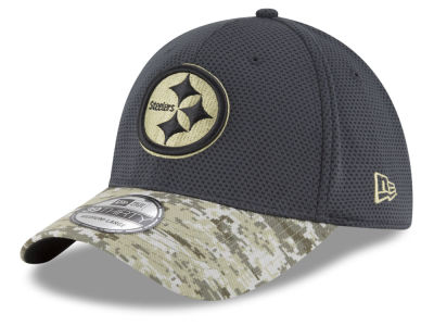 Pittsburgh Steelers New Era NFL Salute to Service Official 39THIRTY Cap