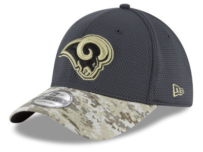 Los Angeles Rams New Era NFL Salute to Service Official 39THIRTY Cap