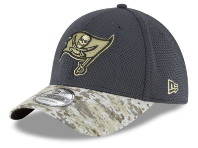 Tampa Bay Buccaneers New Era NFL Salute to Service Official 39THIRTY Cap
