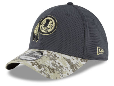 Washington Redskins New Era NFL Salute to Service Official 39THIRTY Cap