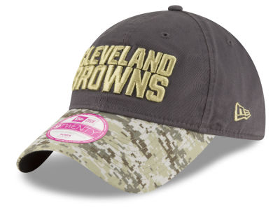 Cleveland Browns New Era NFL Salute to Service Women's 9TWENTY Cap