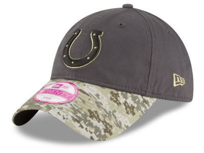 Indianapolis Colts New Era NFL Salute to Service Women's 9TWENTY Cap