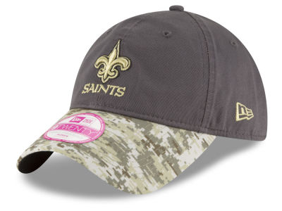 New Orleans Saints New Era NFL Salute to Service Women's 9TWENTY Cap