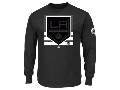 Los Angeles Kings Majestic NHL Men's Slashing Long Sleeve T-shirt