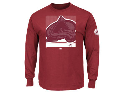 Colorado Avalanche Majestic NHL Men's Slashing Long Sleeve T-shirt