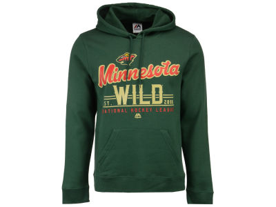 Minnesota Wild Majestic NHL Men's Intense Defense Hoodie