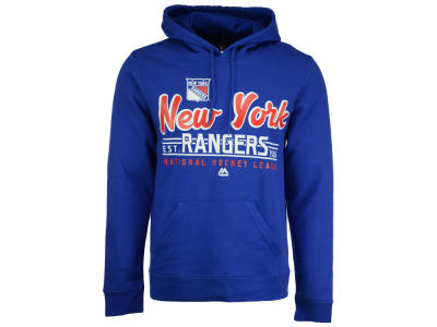 New York Rangers Majestic NHL Men's Intense Defense Hoodie