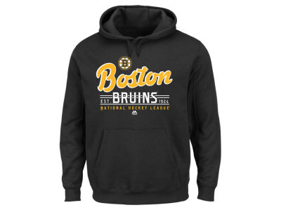 Boston Bruins Majestic NHL Men's Intense Defense Hoodie