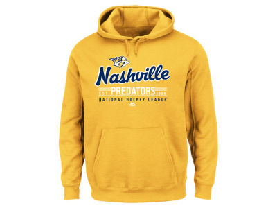 Nashville Predators Majestic NHL Men's Intense Defense Hoodie