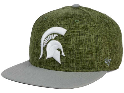 Michigan State Spartans '47 NCAA '47 Weaver Snapback Cap