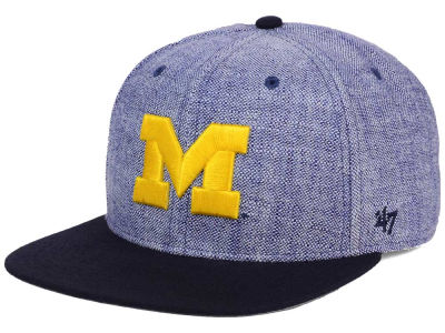 Michigan Wolverines '47 NCAA '47 Weaver Snapback Cap