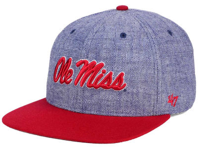 Ole Miss Rebels '47 NCAA '47 Weaver Snapback Cap