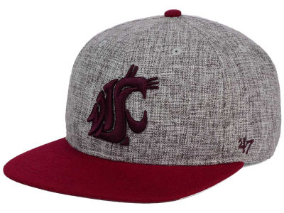 Washington State Cougars '47 NCAA '47 Weaver Snapback Cap