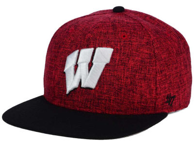Wisconsin Badgers '47 NCAA '47 Weaver Snapback Cap