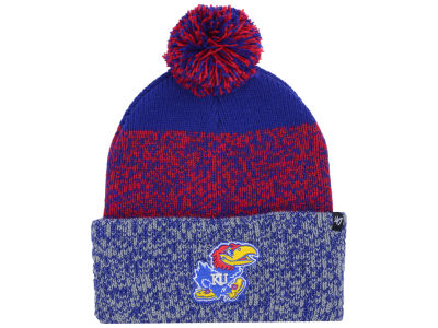 Kansas Jayhawks '47 NCAA Static Cuff Knit
