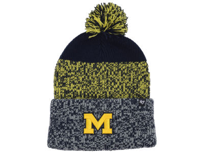 Michigan Wolverines '47 NCAA Static Cuff Knit