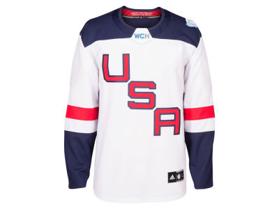 USA Hockey adidas Team Hockey Men's World Cup Of Hockey Premier Jersey