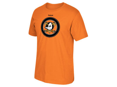 Anaheim Ducks Reebok NHL Men's Duck Seal T-Shirt