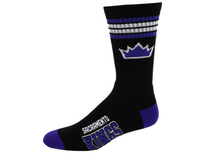 Sacramento Kings 4 Stripe Deuce Crew 504 Sock