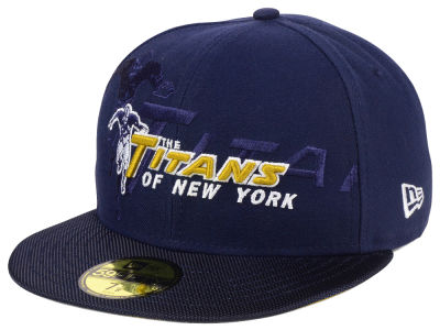 New York Titans New Era 2016 Official NFL Sideline 59FIFTY Cap