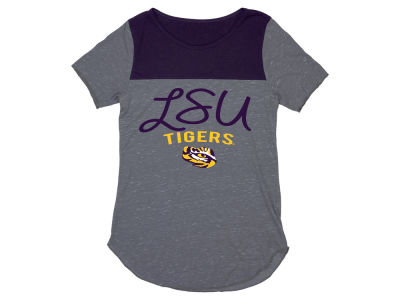 LSU Tigers Blue 84 NCAA Women's Confetti Yolk T-Shirt