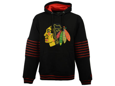 Chicago Blackhawks Old Time Hockey NHL Men's Piper Hoodie